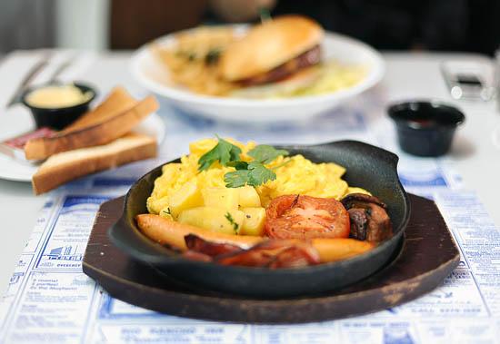 Overeasy Breakfast