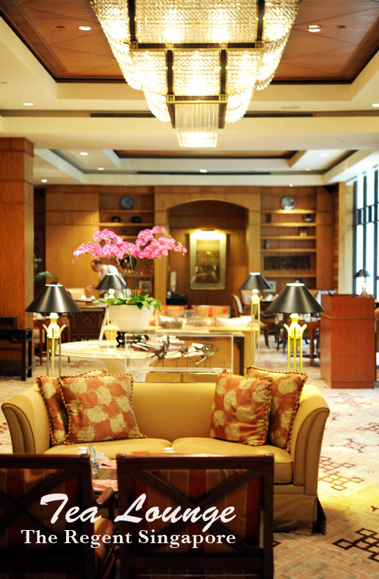 Tea Lounge The Regent Singapore