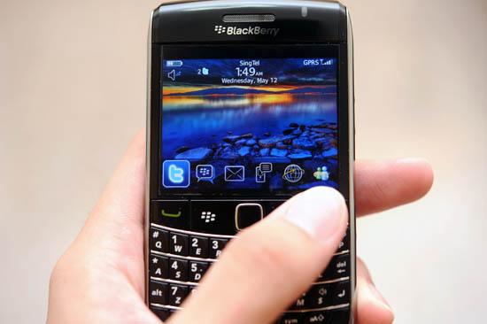 Singtel Blackberry Youth Plan