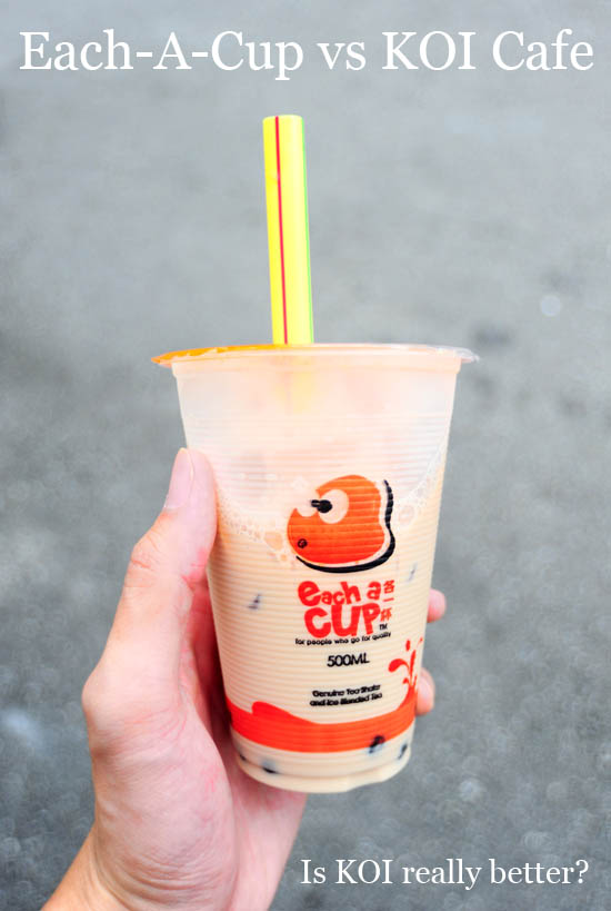 Each A  Cup Bubble Tea