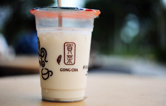 Gong Cha Bubble Tea Singapore