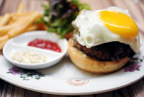 Epicurious Burger