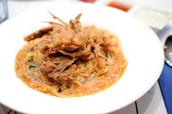 Spaghetti Soft Shell Crab
