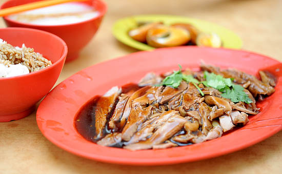 Best Braised Duck Rice Singapore