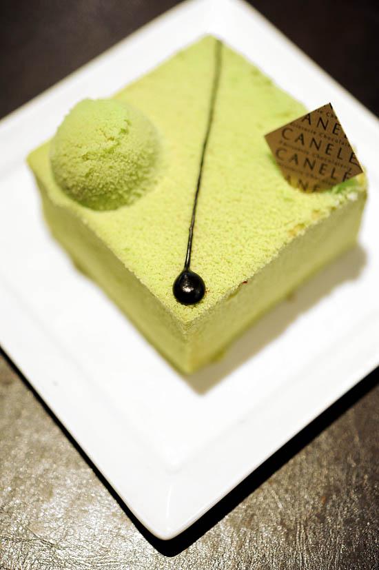 Canele Patisserie Matcha Cake