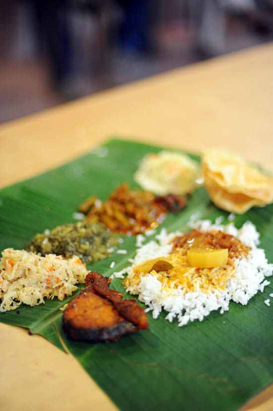 Chettinad Cuisine Banana Leaf Rice