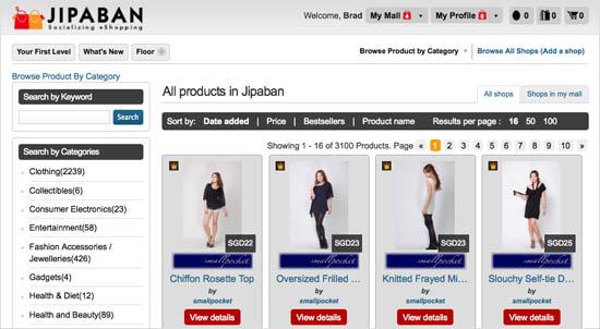 Jipaban Search by Categories