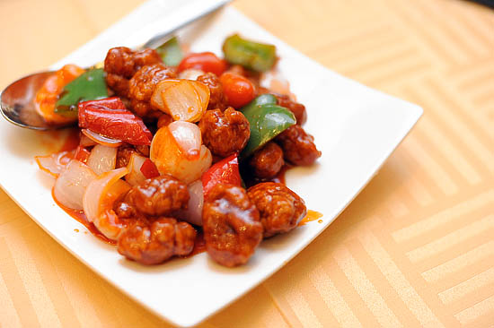 Seafood Paradise Sweet & Sour Pork