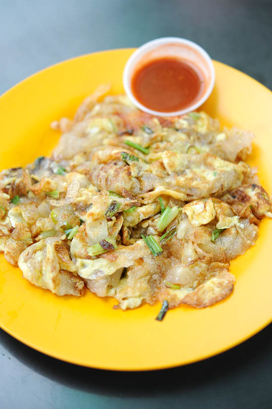 Bukit Timah Hawker Oyster Omelette
