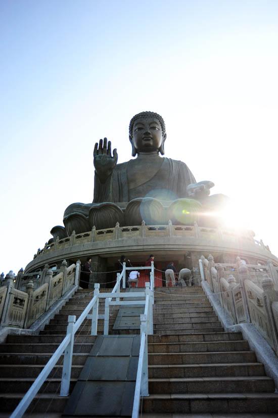 Po Lin Monastery Giant Buddha