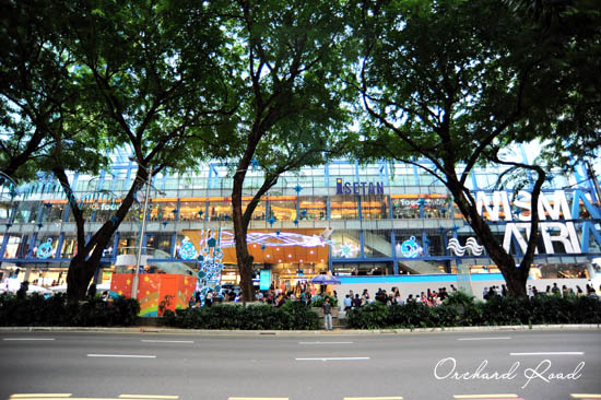 Shopping in Orchard Road