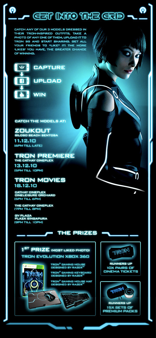 Tron Get into the grid contest