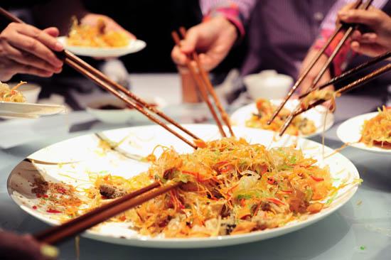 Chinese New Year Yu Sheng