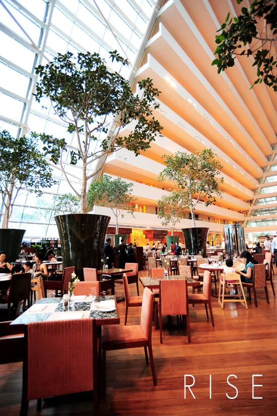 Rise Restaurant Marina Bay Sands