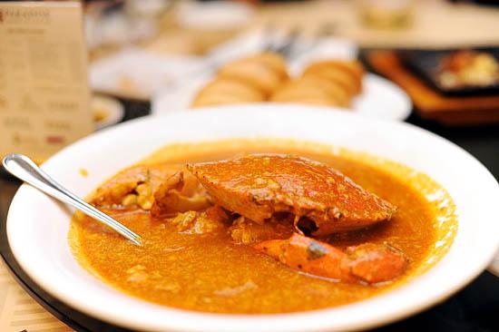Seafood Paradise Chili Crab