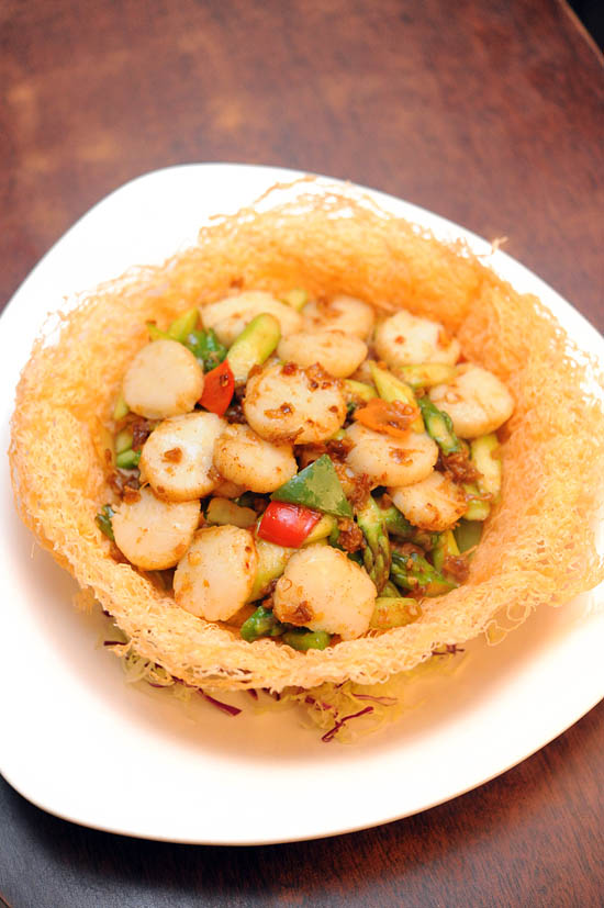 Chinese Scallop Delicacy