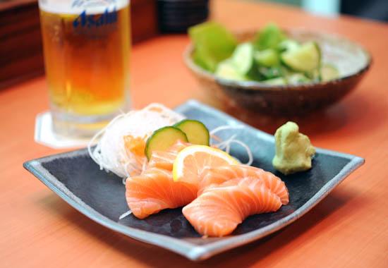Standing Sushi Bar Sashimi