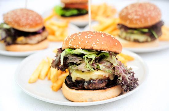 Sunshine Cafe Burger