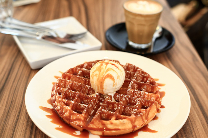 Assembly Coffee Waffles