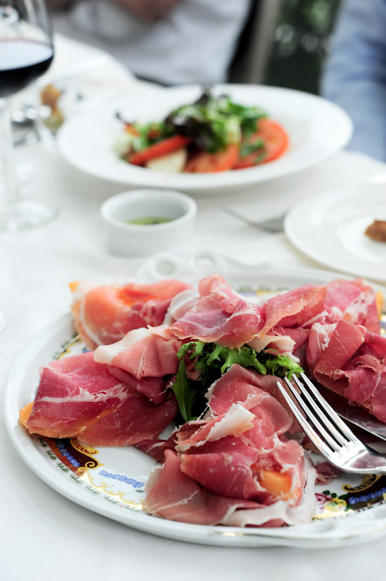 Rock Melon with Parma Ham