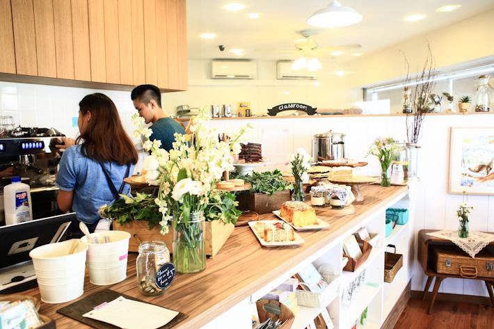 Singapore Cafe Scene
