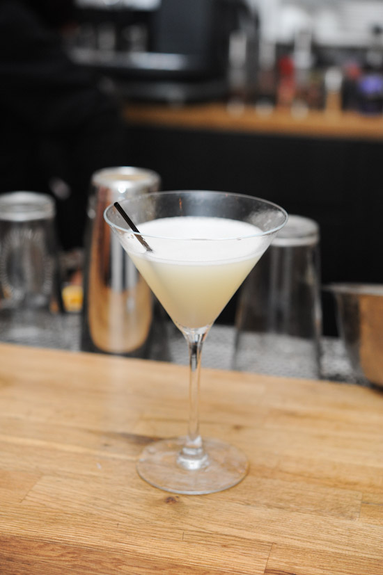 Honeydew Sake Cocktail