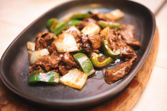 Hot Plate Deer Meat