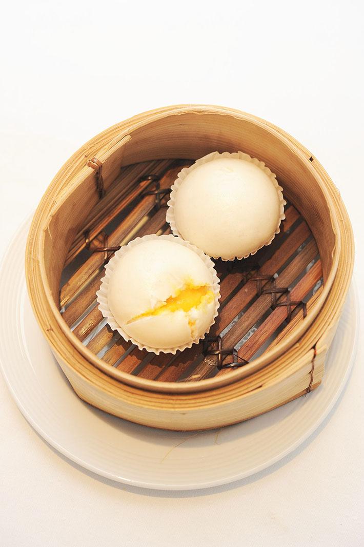 Man Fu Yuan Custard Bun