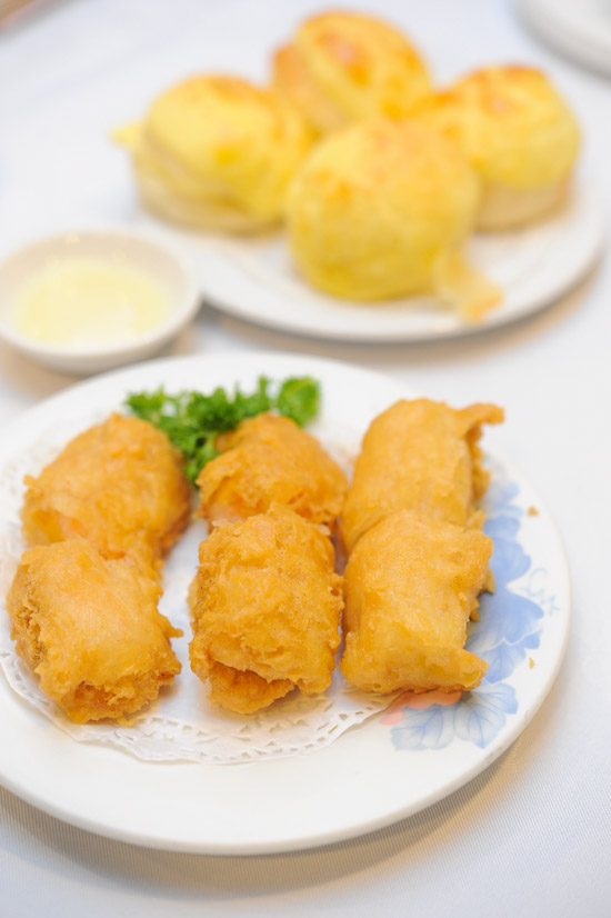 Fried Prawn Dumpling