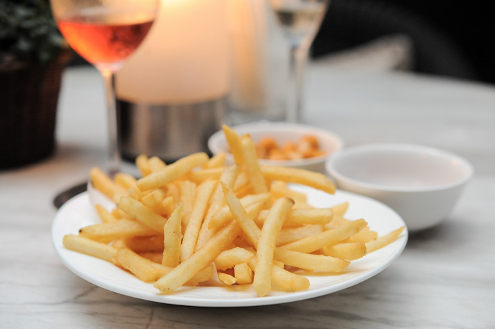 Lantern bar truffle fries