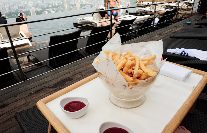 Skypark Truffle Fries