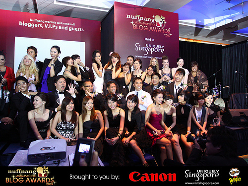 Nuffnang blog awards photo
