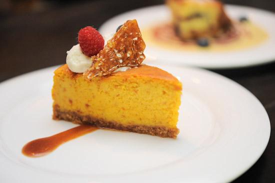 Roasted Pumpkin Cheesecake