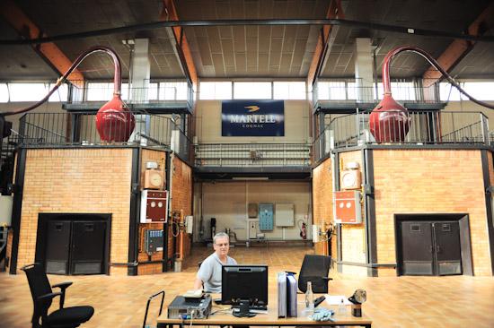 Martell Cognac Distillery
