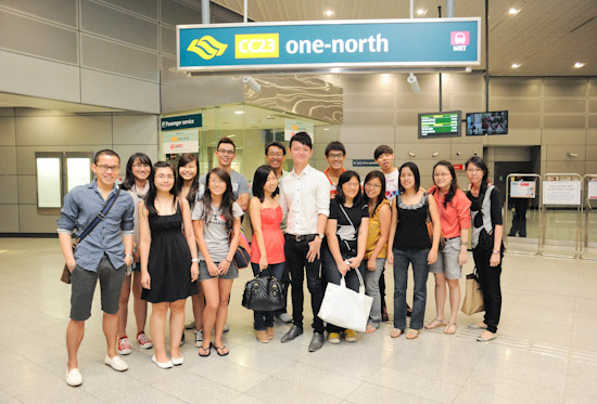 SMRT Food Outing