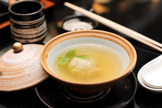 Pork Gyoza Mushroom Soup
