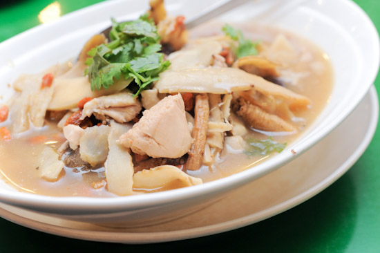 Chicken herbal soup