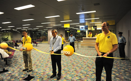Opening of FlyScoot