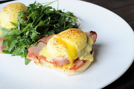 Roadhouse Eggs Benedict
