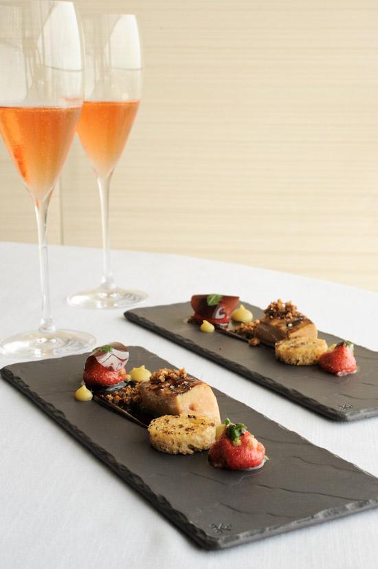 Escalope of landes foie gras