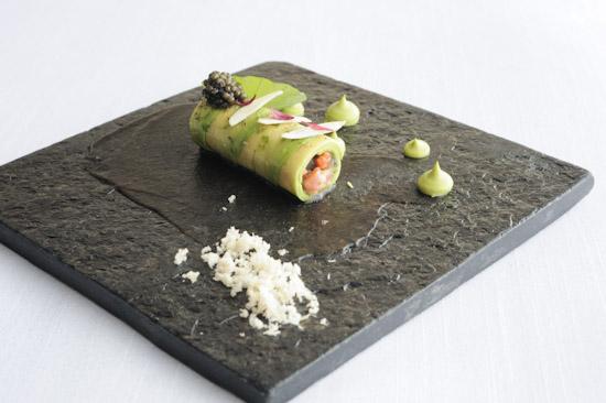 Obsiblue prawn & avocado