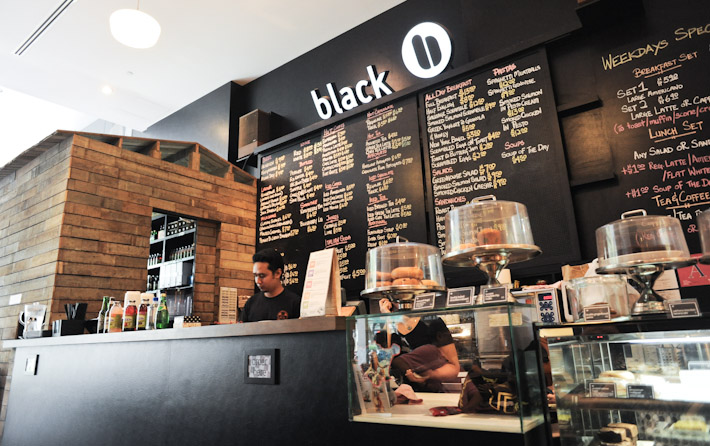 Black Coffee Dessert Bar