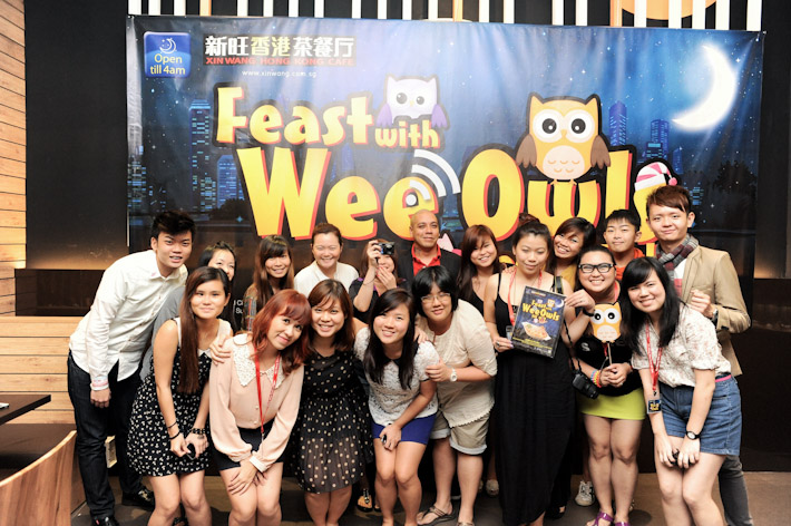 Feast with Wee Owls