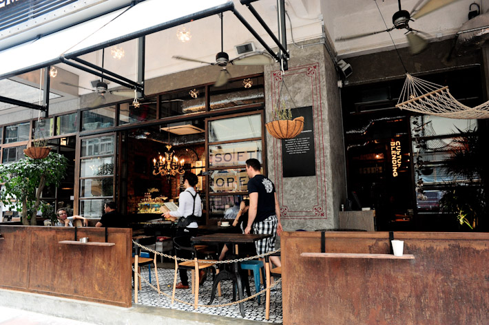 Cafes in Hong Kong