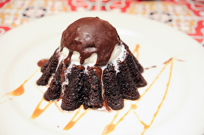 Chili Chocolate Lava Cake