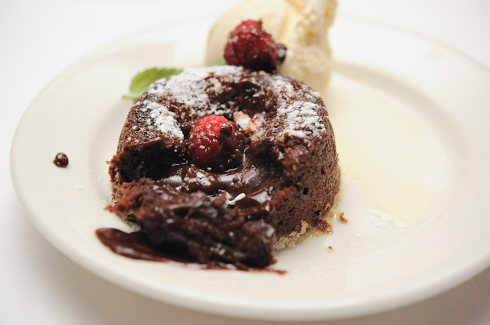 Morton's Hot Chocolate Cake