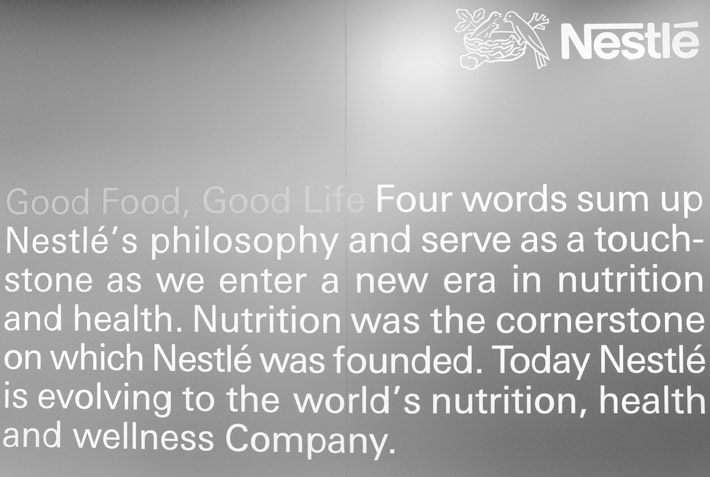 Nestle Philosophy