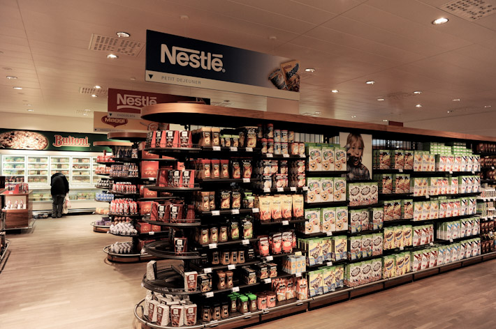 Nestle Staff Shop