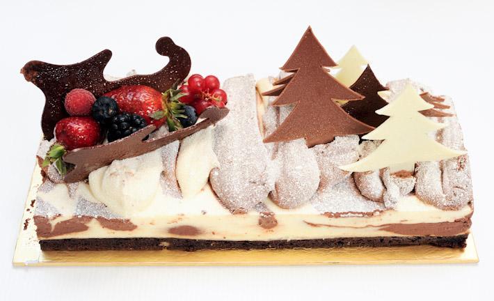 Ritz Carlton Log Cake