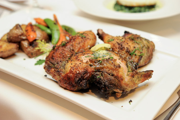 Roasted Spring Chicken